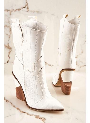 Bambi Çizme Beyaz